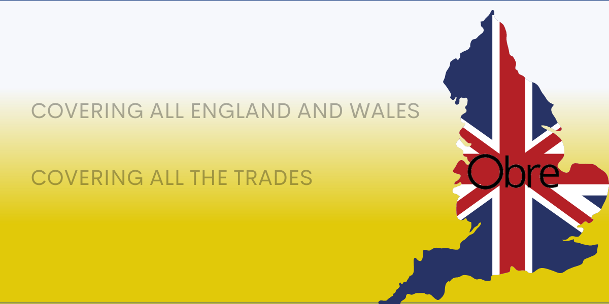 Obre nationwide cover England and Wales